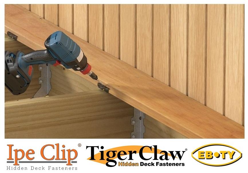 Hidden Deck Clips