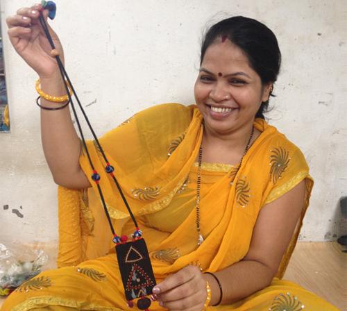 Chindi Necklace