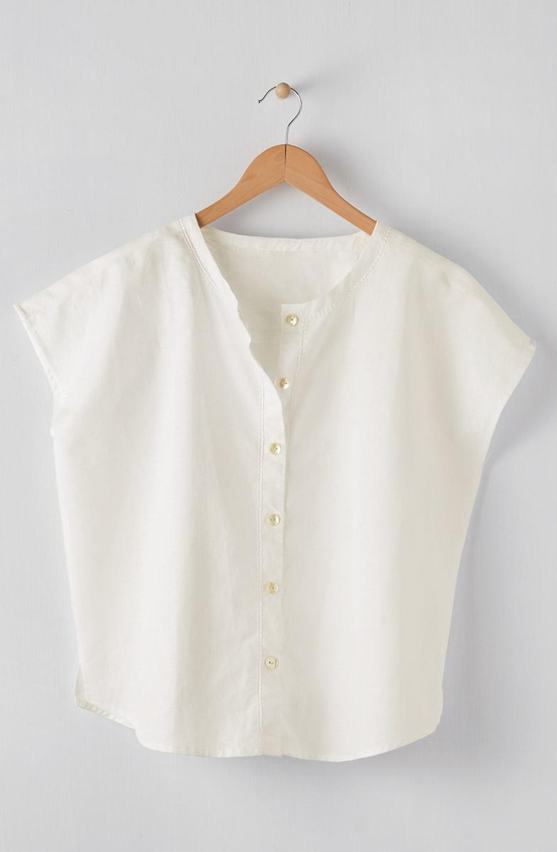 Savya Top - Soft white