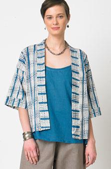Meera Jacket - Azure