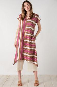 Shefali Dress - Natural Garnet Multi