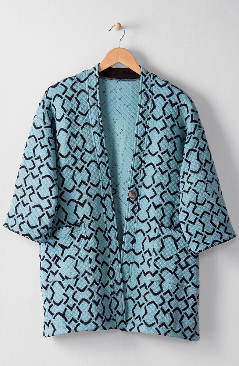 Kanchi Jacket - Frost blue