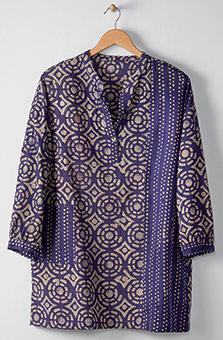 Kimaya Shirt - Purple