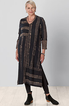 Nirupa Dress - Black