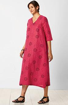 Ratna Dress - Allium/Multi