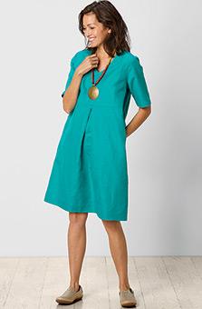 Asmita Dress - Bright teal