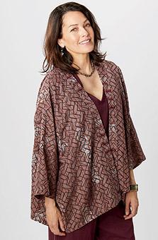 Sunita Jacket - Dusty plum