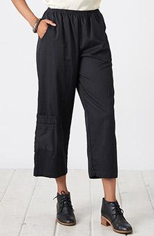 Kesari Cargo Pant - Black