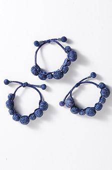 Chindi Bracelet - Indigo