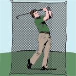 #420 Treated Golf Backstops