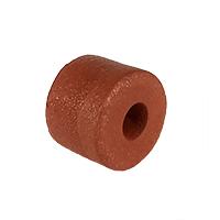 "Float, PVC Sponge, 2"" dia. by 1-1/2"", Rust"