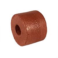 "Float, PVC Sponge, 3"" dia. by 3"", Rust"