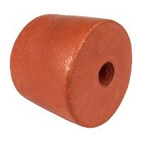 "Float, PVC Sponge, 4-1/2"" dia. by 3-1/2"", Rust"