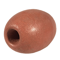 """Float, Oval, 4"""" dia. by 5-3/4"""", Rust"""