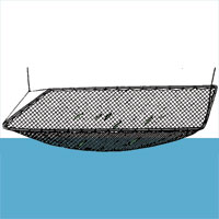 Knotted Lift/Drop Net