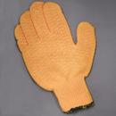 Gloves, Knit Wrist, Sure-Grip, Medium