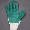 Gloves, String Knit, Palm Dipped, Large