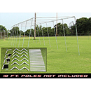 Batting Cage Frame Kit - 70' X 12' X 12'