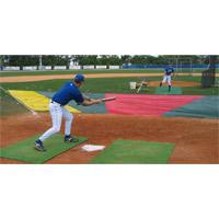 Bunt Zone Infield Protector, Minor League: 20' (D) X 24' X 64'