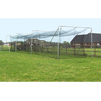 Batting Cage Deluxe Frame Kit, 55' x 15.5' x 12 '