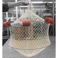 Nylon Live Net, Floating, 1 in. Mesh, 2 ft.
