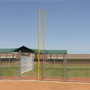 Above Ground Foul Poles, A Pair of 12 ft.