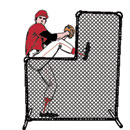 Protector Net & Frame, 6' x 6' with 3' x 3' Cutout, with Special Black Weather Coating