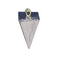 Mold, Pyramid Sinker, 5 Cavity, 1 oz. to 3 oz.