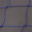Soccer Goal Nets, 8' H., 24' W., 4' Top Depth, 10' Base Depth, Blue, Pair