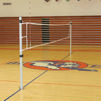 Volleyball System, Steel with Ground sleeves