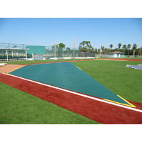 Infield Protector: 20' (D) X 20' X 60'
