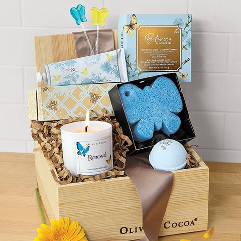 Butterfly Spa Crate