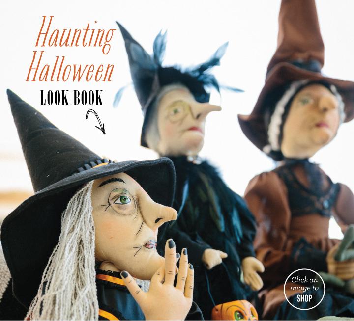 Haunting Halloween Look Book: Olive & Cocoa