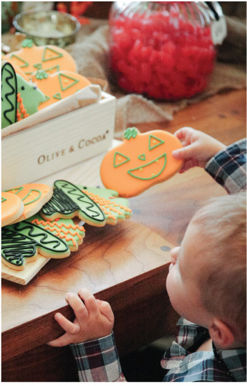 Witch & Boo Cookies