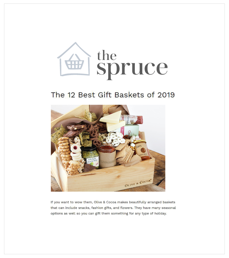 As Seen in The Spruce: Olive & Cocoa