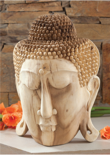 Noble Buddha Wooden Sculpture