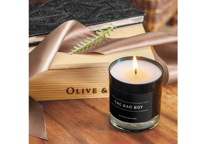 The Bad Boy Candle
