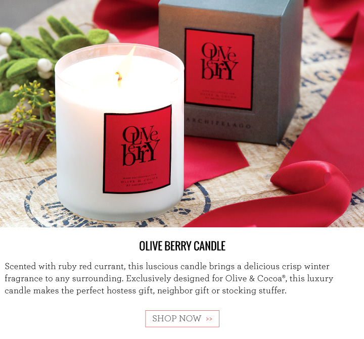 Olive Berry Candle