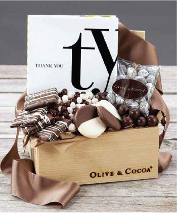 How to Thank Thoughtfully: Olive & Cocoa