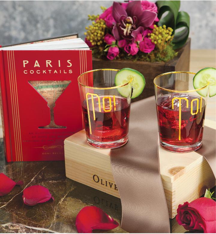 Moi et Toi Parisian Cocktail Set