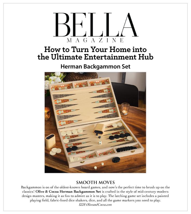 As Seen In Bella Magazine 01.01.2021