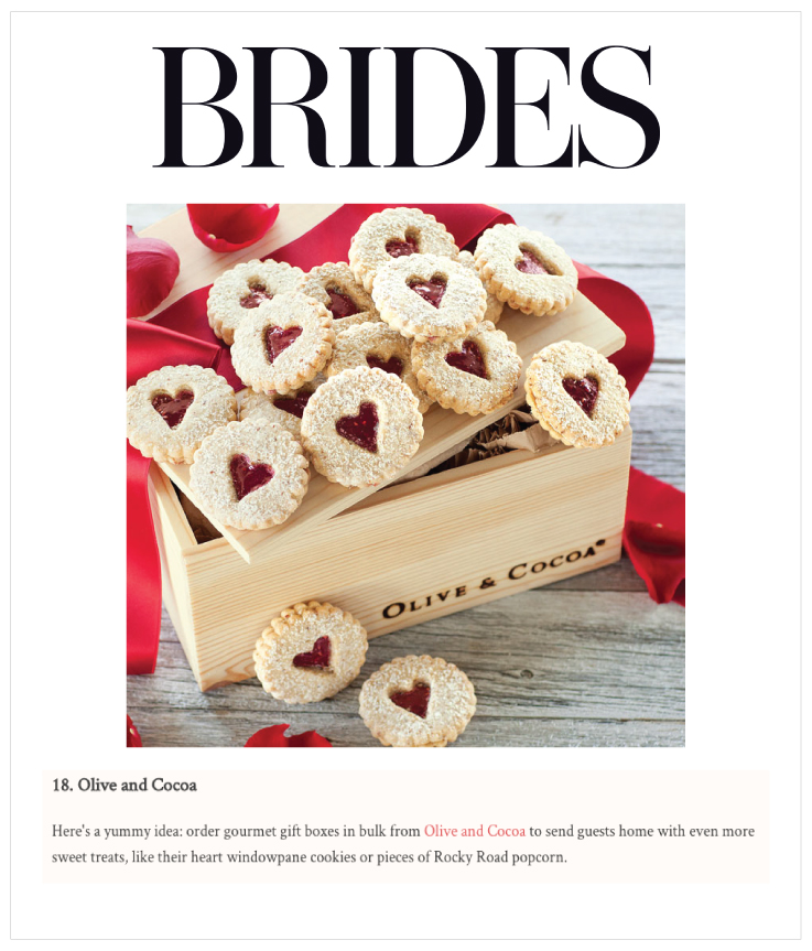 As Seen In Brides: Olive & Cocoa
