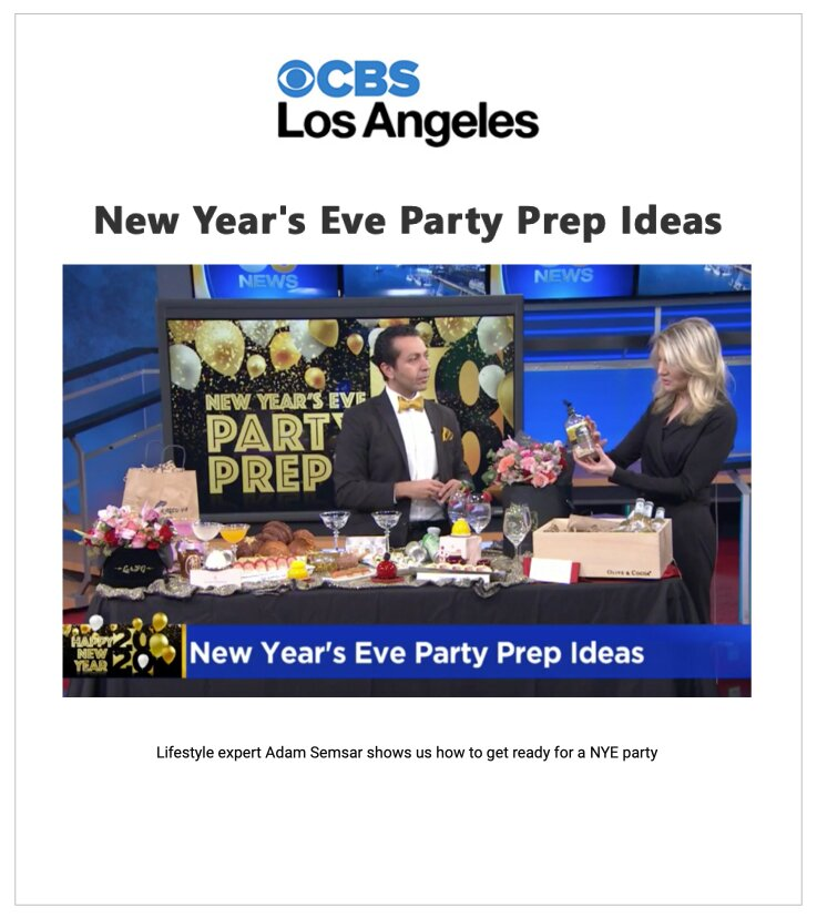 New Year's Eve Party Prep Ideas: Olive & Cocoa