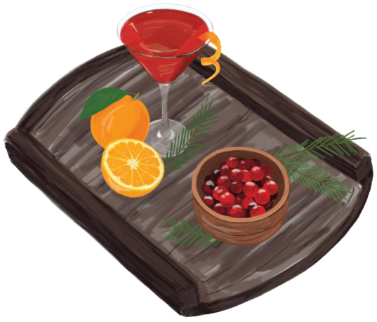 Cranberry Orange Martini Recipe for Your Holiday Party