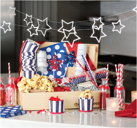 Americana Party Crate
