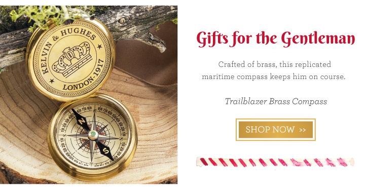 Trailblazer Brass Compass