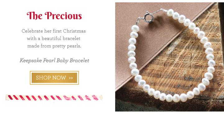 Keepsake Pearl Baby Bracelet