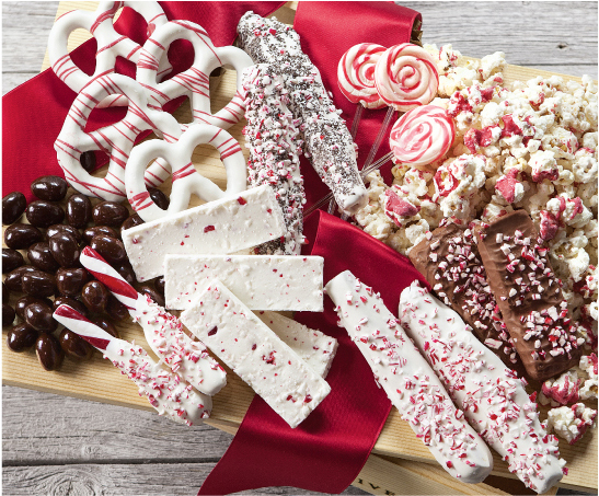 Snowy Peppermint Sweets