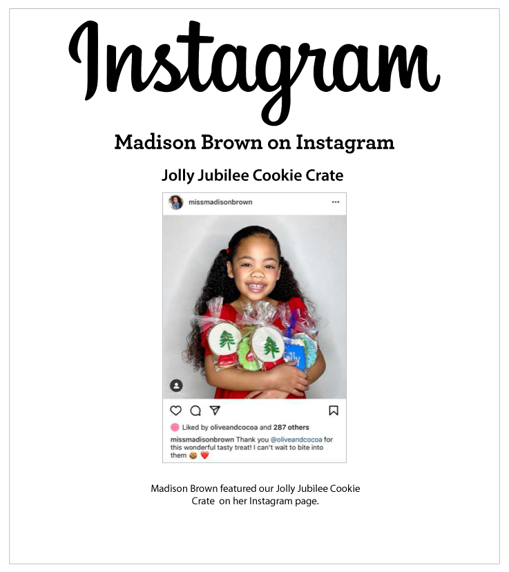 As Seen In Madison Brown on Instagram 12.25.2021