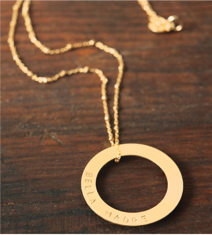 Bella Madre Gold Necklace